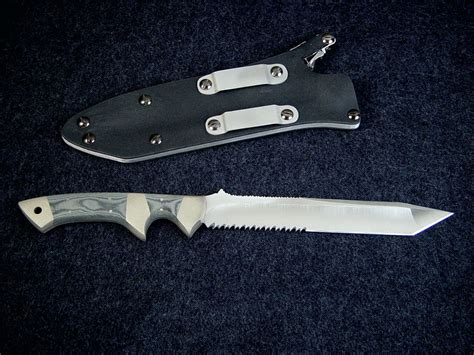 Handmade Tactical Knives - quot minuteman el quot handmade custom combat tactical knife by