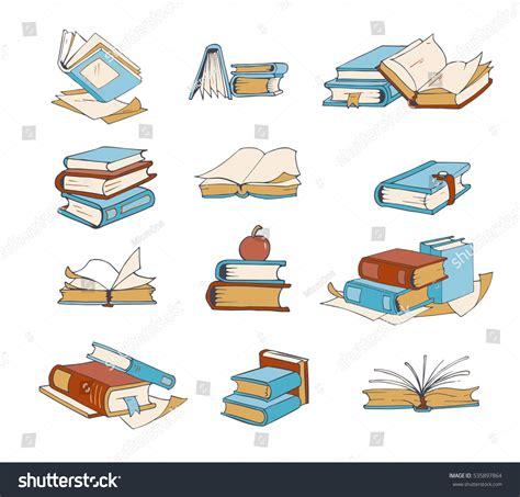 doodlebug dictionary doodle books novel encyclopedia stock vector