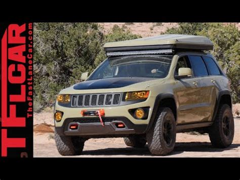 2016 jeep grand cherokee off road jeep grand cherokee overlander concept an off road mobile