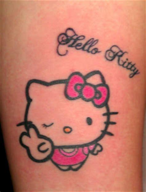 tattoo fail hello kitty american sweetheart hello kitty tattoo