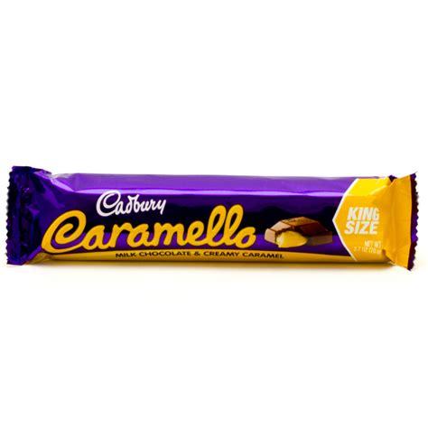 caramell p cadbury caramello milk chocolate creamy caramel king