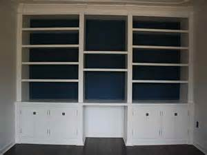 Built In Bookshelves Diy Diy Built In Bookcases