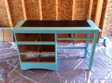 chalkboard paint jamaica pack family refinished desk