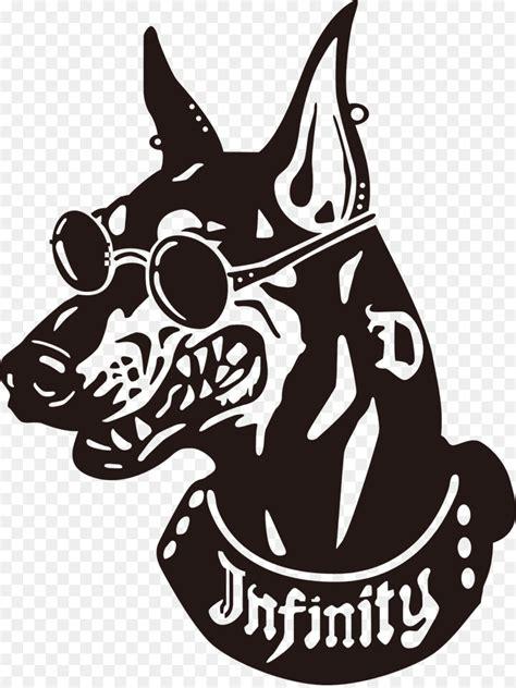 dog logo png    transparent dobermann png  cleanpng kisspng