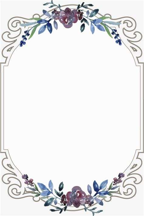 eps format border design free download vintage floral border flowers frame continental png and
