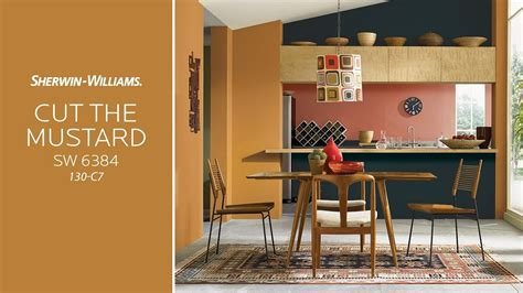 the cut and color room may 2017 color of the month cut the mustard sherwin williams