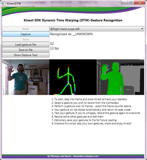 android tutorial gesture detection c gesture recognition algorithm kinect stack overflow