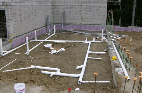 Plumbing Foundation by Laying The Plumbing Foundation For Temple Torat Yisrael Yelp