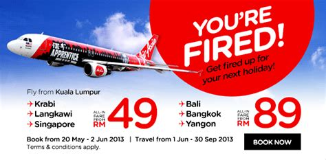 airasia holidays airasia promotion may 2013 malaysia lcct relevant
