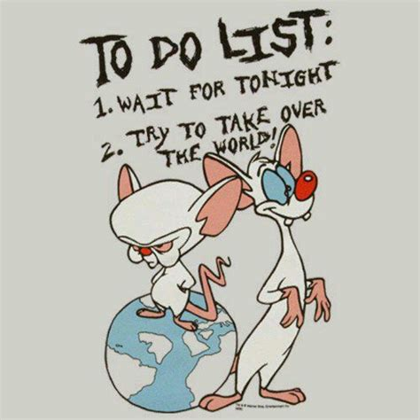 pinky and the brain quotes quotesgram