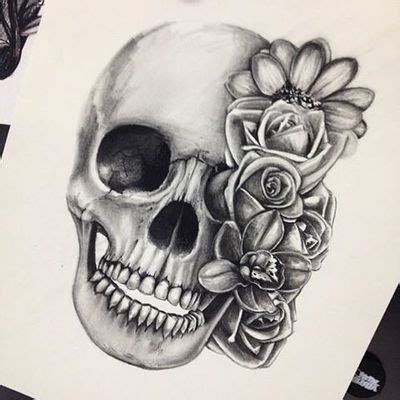 skull and rose tattoos tumblr 67 best images about tattoos on agatha