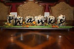 Wooden Letters Decor 24 Diy Thanksgiving Centerpiece Ideas That Will Charm Your