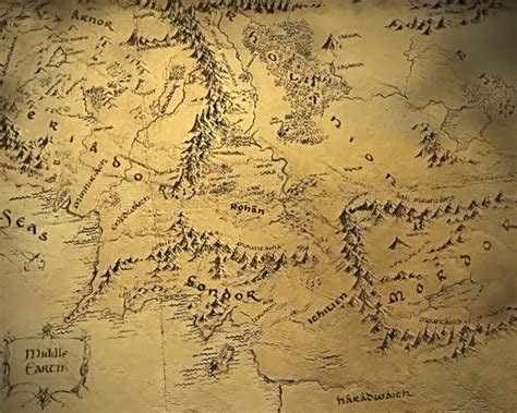 map of middleearth waiting for a new hobbit explore maps of
