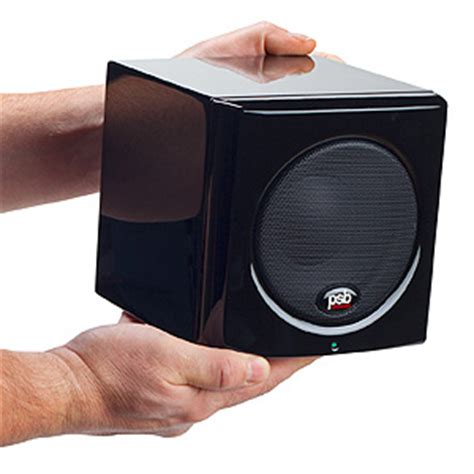 psb  series     compact powered subwoofer