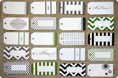 Jones Design Company Printable Gift Tags | 10 free printable christmas tags one stylish party