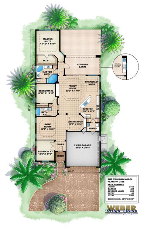 Home Plans For Narrow Lots by House Plans Home Plans Of 2011 Narrow Beach House Plans