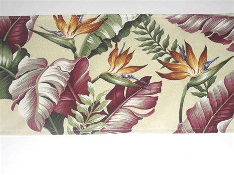 hawaiian upholstery fabric 12 x54 tropical hawaiian 100 cotton barkcloth upholstery