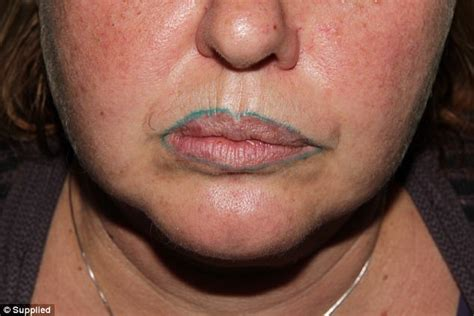 26 crazy lip tattoos that look like they hurt photos tattoo lip liner turns green after cosmetic surgery