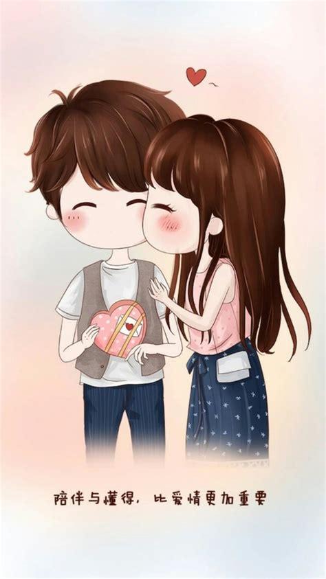 animated couple wallpaper hd for mobile ร ปภาพ art art girl and beauty girl cute 1 pinterest