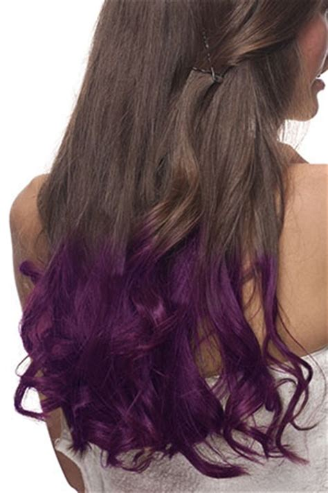 long hairstyles purple highlights long brown hair with purple highlights www pixshark com