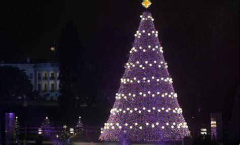 christmas lighting ceremony hotel gm speech us president barack obama celebrates with children