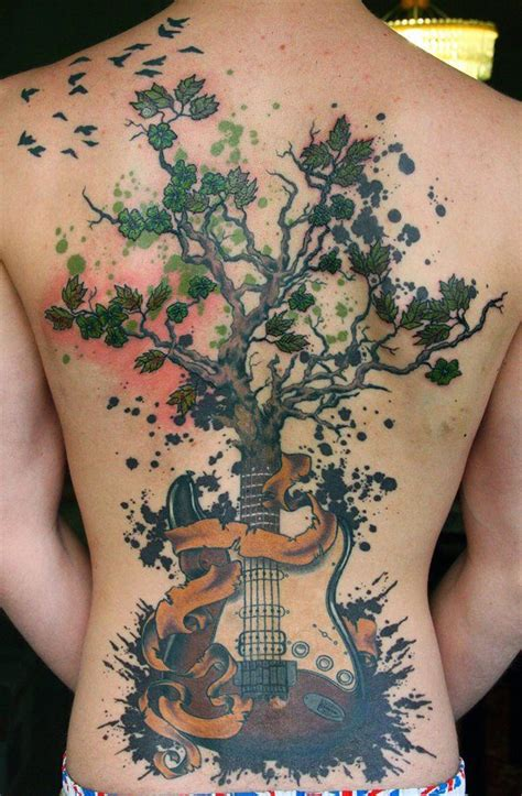 tree back tattoo designs tree tattoos for ideas and designs for guys
