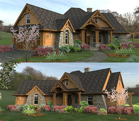 vacation cottage house plans oh my gorgeous i wish plan w16800wg craftsman mountain cottage corner lot