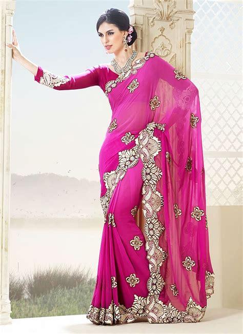 Pink Saree saree drop wallpaper