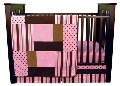 17 Best Images About Nursery On Pinterest Chocolate Classics Pink Parade 5 Crib Bedding Set
