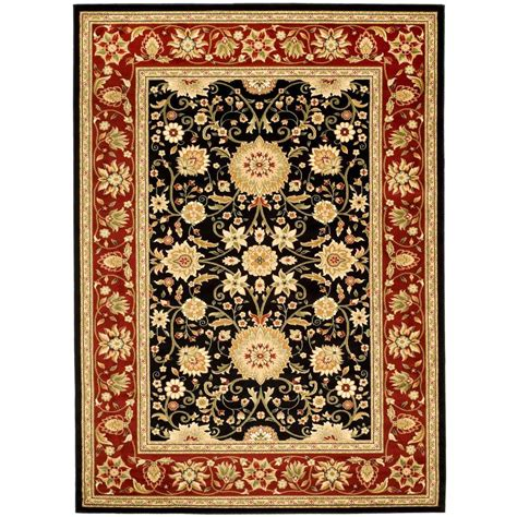 Safavieh Lyndhurst Rugs Safavieh Lyndhurst Black 6 Ft X 9 Ft Area Rug Lnh212g 6 The Home Depot