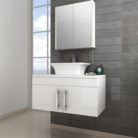 Wall Hung Vanity Classic Gloss White Wall Hung Vanity Unit With Doors Now