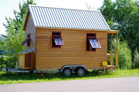 tiny house  wheels  germany hanspeter brunner