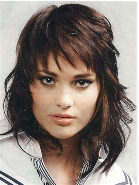 pics of shaggy bobs for curly hair curly shaggy hairstyles for women