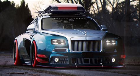 roll royce tuning you re never going to see a rolls royce wraith like this