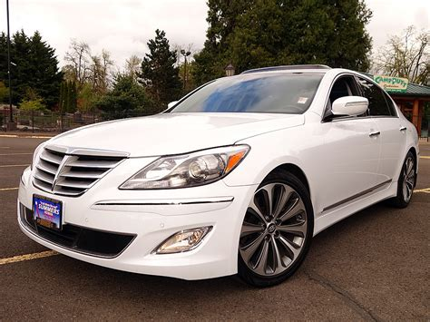used 2014 hyundai genesis 5 0 r spec for sale in eugene