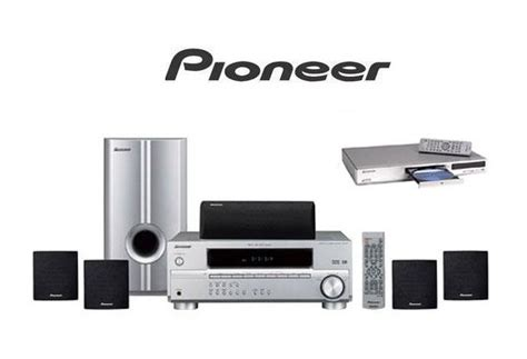 pioneer htps  watt home theater systems dvd player