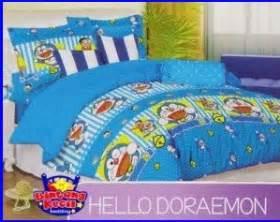 Jual Sprei Termurah Jual Sprei Katun Cvc Doraemon Hello Murah Dan Berkualitas