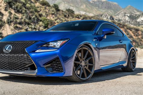 lexus rcf blue bd 11 wheels