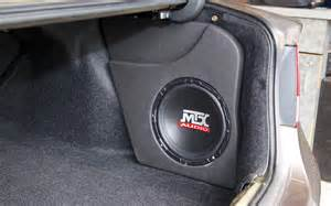 hcs06fb10u thunderform custom subwoofer enclosure mtx audio