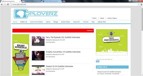 narutobleachlover facebook 7 situs terbaik untuk nonton download anime coulite