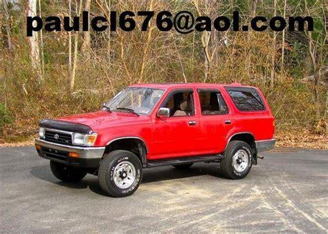 1995 Toyota 4runner For Sale 1995 Toyota 4runner For Sale From Butte Montana Adpost