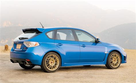 wrx subaru 2008 car and driver