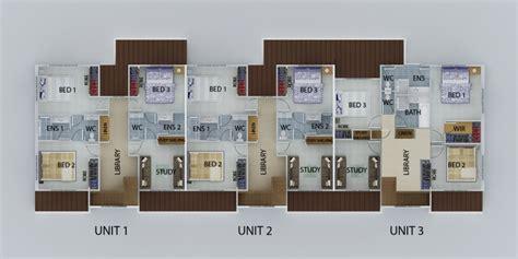 unit floor plans designs casa constructions unit block designs