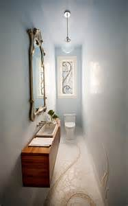 narrow powder room creative solutions to powder room challenges faith