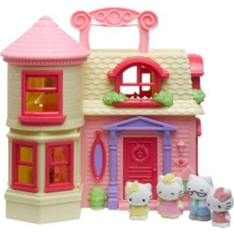 barbie dolls house argos buy hello kitty vellutata happy home dolls house playset at argos co uk your online shop for
