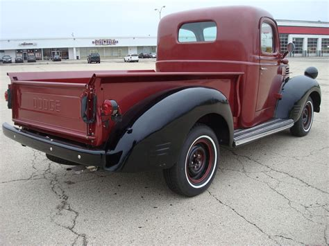 dodge pickup step side wood bed cyl manual  speed restored  dodge  pickups