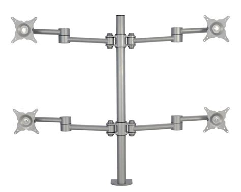 Desk Grommet Screwfix by Vision Monitor Pole Arm 3 4 6 Screens Cmd Ltd