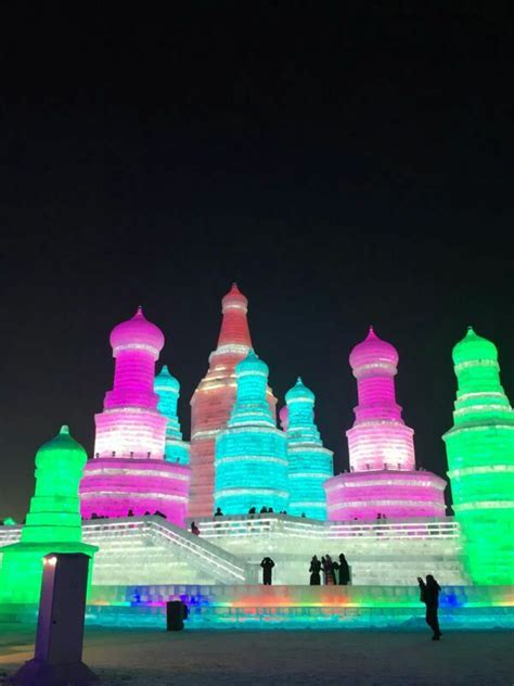 harbin snow and ice festival 2017 18th harbin ice and snow world in 2017 harbin ice
