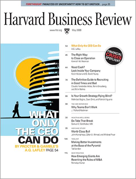 Harvard Mba Review by Harvard Business Review