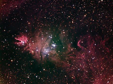 christmas tree nebula ngc 2264 1 21 2012
